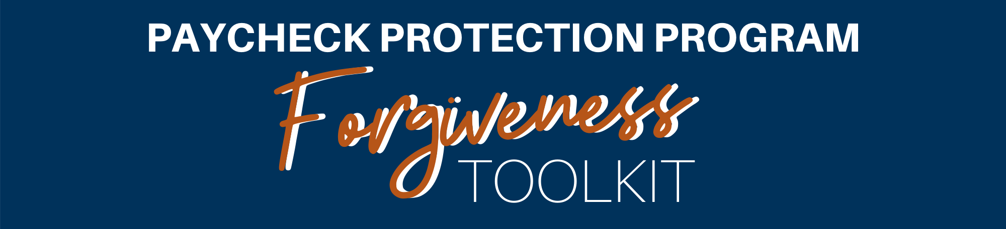 new ppp forgive tool header